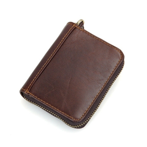 Leather Around Zipper Wallet with RFID Blocking Technology - Secure Wallet & Phone