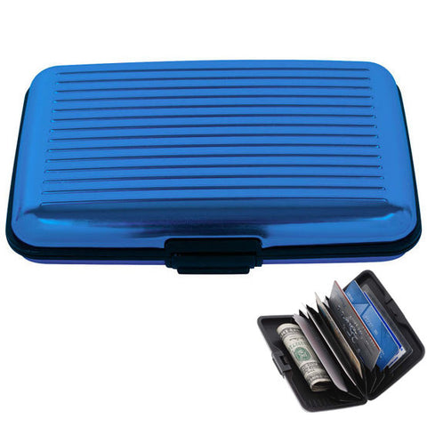 Wallet Credit Card Holder with RFID Signal Blocking Technology - Secure Wallet & Phone