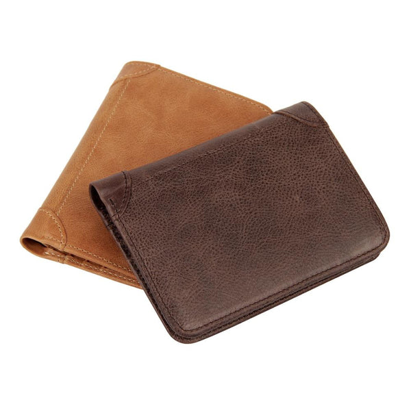 Men's Genuine Leather Wallet and Coil Purse with RFID Blocking Technology - Secure Wallet & Phone