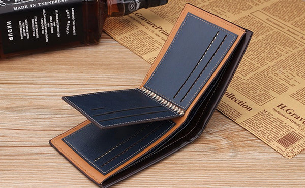 Men's Short Style Wallet - Secure Wallet & Phone