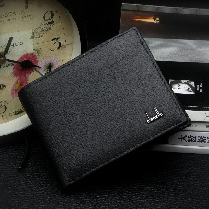 Men's Soft Leather Wallet - Secure Wallet & Phone