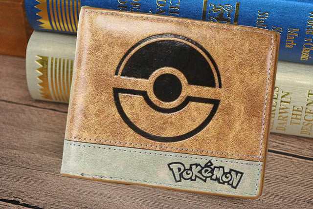 Pokemon Wallet with Coin Zipper Pocket - Secure Wallet & Phone