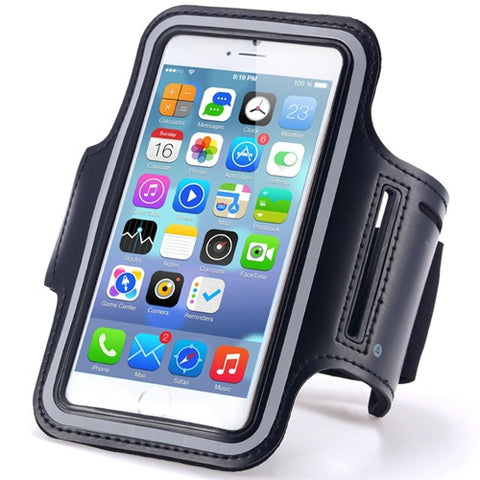 Waterproof Sport Gym Case Arm Band For iPhone 6 6S 4.7 With PU Brush Surface - Secure Wallet & Phone