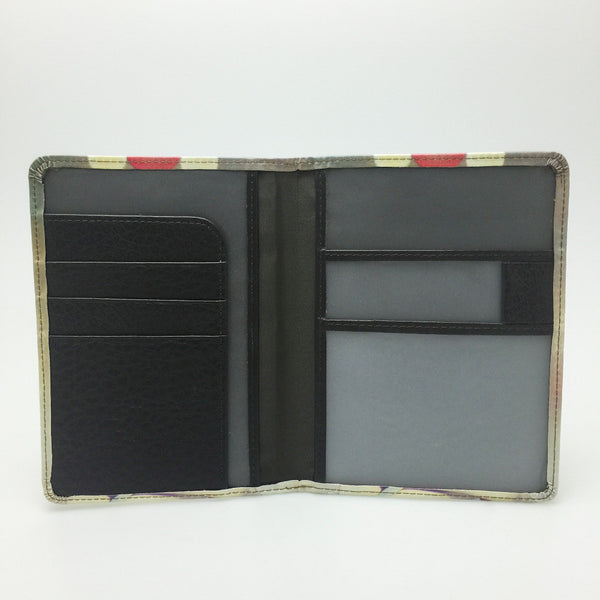Women's Opera Leather Passport Holder - Secure Wallet & Phone