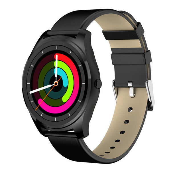 Diggro DI03 Waterproof Smart Watch Heart Rate Monitor Remote Control Camera & Message Push IOS Android - Secure Wallet & Phone
