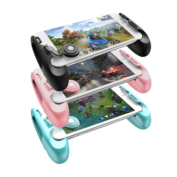 Analog Joystick Grip for Android & iOS Wireless Phones - Secure Wallet & Phone