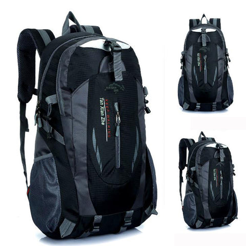 New Waterproof Nylon Backpacks - Secure Wallet & Phone