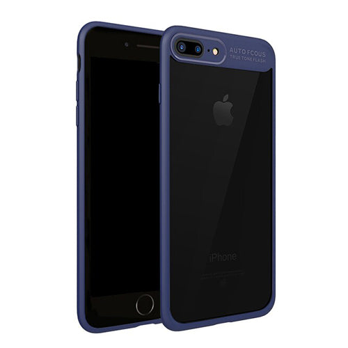 Full Protection Case with Transparent Back Shell for iPhone 7, 7 Plus, 8 & 8 Plus - Secure Wallet & Phone