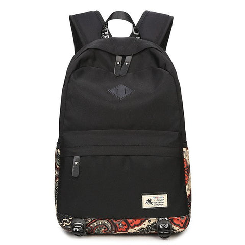 New Canvas Laptop Backpacks 15.6 inch - Secure Wallet & Phone