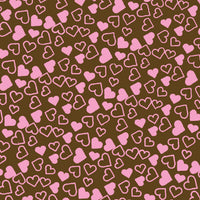 Chocolate Transfer Sheet -  Tiny Hearts