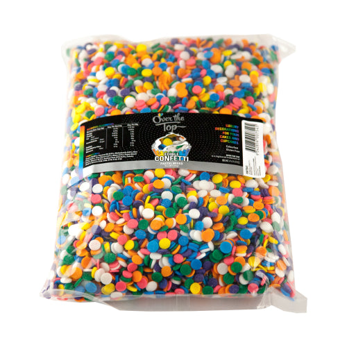 Over The Top Edible Confetti - Pastel -  Cake Decorating 1kg - Gluten Free Sprinkles