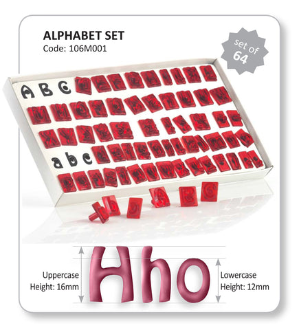 JEM ALPHABET CUTTER SET