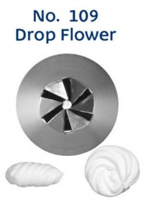 Loyal No. 109 DROP FLOWER MEDIUM Piping Tip