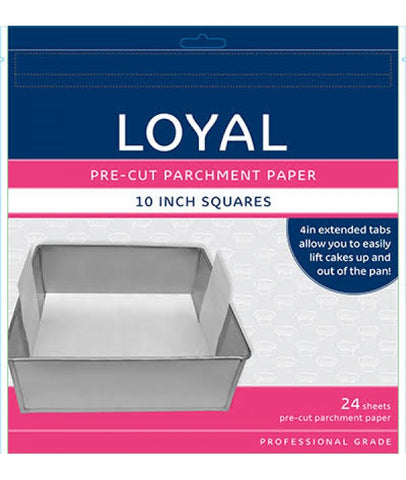 LOYAL PRE-CUT PAPER WITH TABS Square 250mm/10 inch