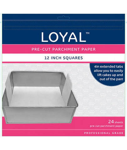 PRE-CUT PAPER WITH TABS Square 300mm/12 inch