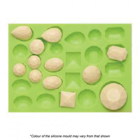 ASSORTED GEM SILICONE MOULD