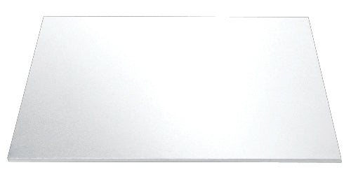"9"" Square White Masonite Cake Board"
