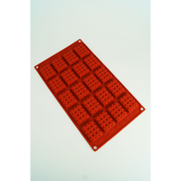 20 CAVITIES - BRICK BLOCKS SILICONE CHOCOLATE MOLD / TART FLEXIBLE BAKING MOULD