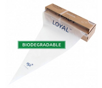 "22in/55cm CLEAR BIODEGRADABLE LOYAL 22"" Piping Bag"
