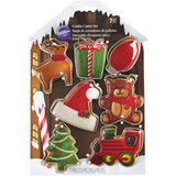 WILTON SANTA'S WORKSHOP COOKIE CUTTER 7PC SET