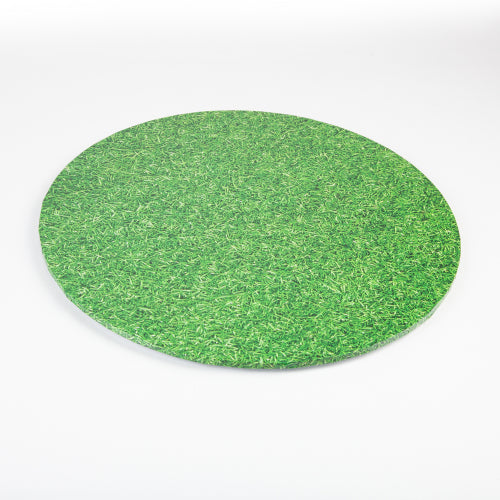MONDO CAKE BOARD ROUND GRASS 8 IN/20CM 8""