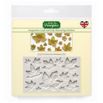 Maple Leaves Silicone Moulds - Katy Sue Mould