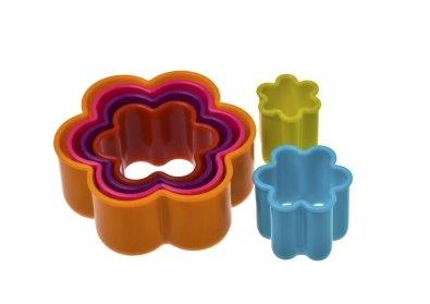 Flower Cookie Cutters -  Set 6