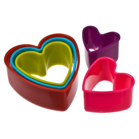 Heart Cookie Cutters -  Set 5