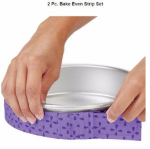 WILTON 6 PC. BAKE EVEN STRIP SET