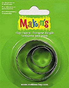 Makins Cutter Set of 3 - Round