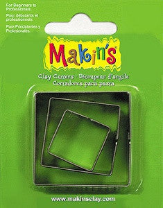 Makin's Cutter Set of 3 - Square