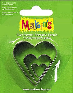 Makin's Cutter Set of 3 - Heart