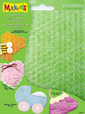 Makins Texture Sheets - Set C - Set of 4