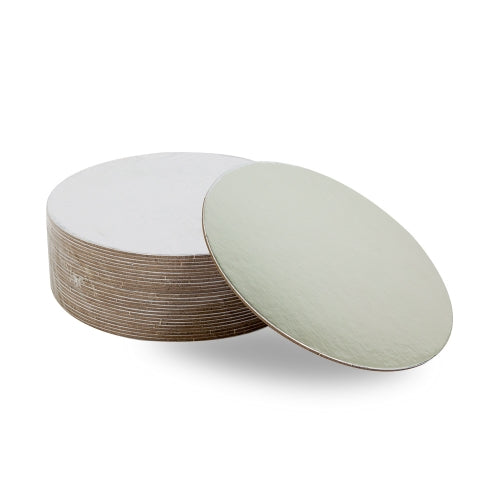 "6"" MONDO 2.5MM COMPRESSED CAKE BOARD ROUND 6IN 6"" - 25PK"