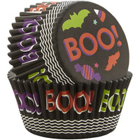 "WILTON ""BOO!' Standard Baking Cups 75pc"
