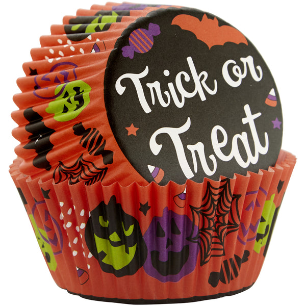 WILTON Trick or Treat Standard Baking Cups 75pc