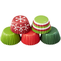 WILTON HOLIDAY MINI BAKING CUPS
