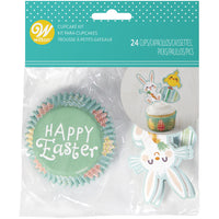 WILTON HAPPY EASTER CUPCAKE COMBO PACK 24PC