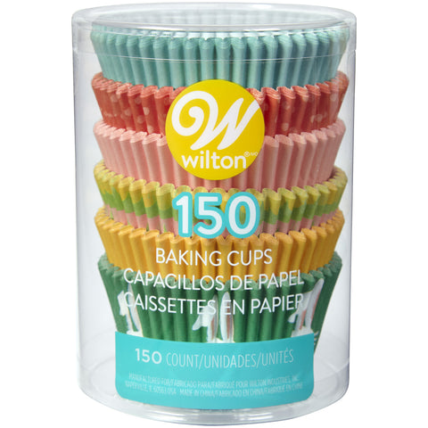 WILTON EASTER STANDARD BAKING CUP TUBE 150PC