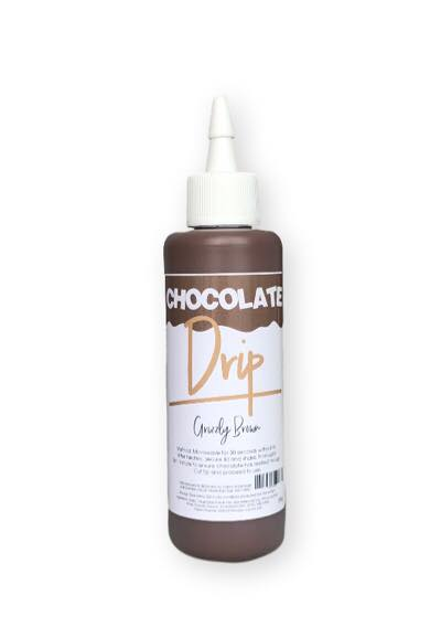 CHOCOLATE DRIP 250G GRIZZLY BROWN