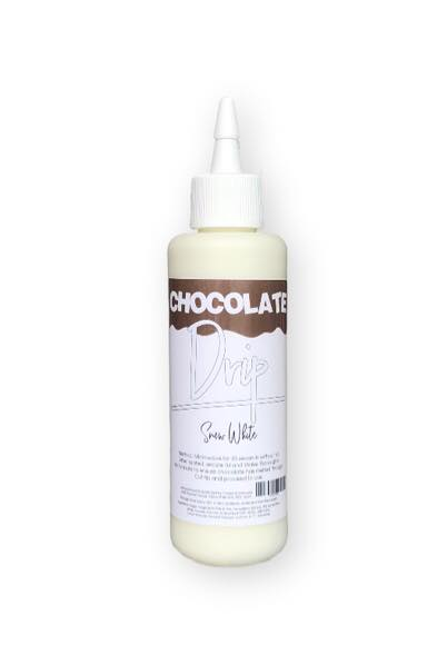 CHOCOLATE DRIP 250G SNOW WHITE