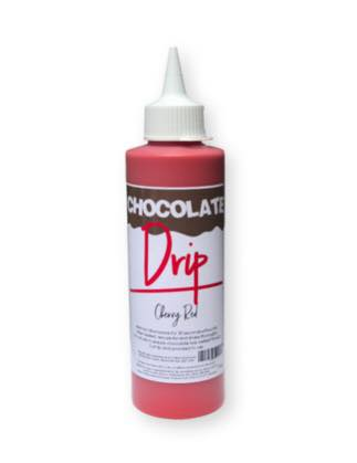 CHOCOLATE DRIP 250G CHERRY RED
