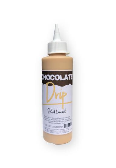CHOCOLATE DRIP 250G SALTED CARAMEL