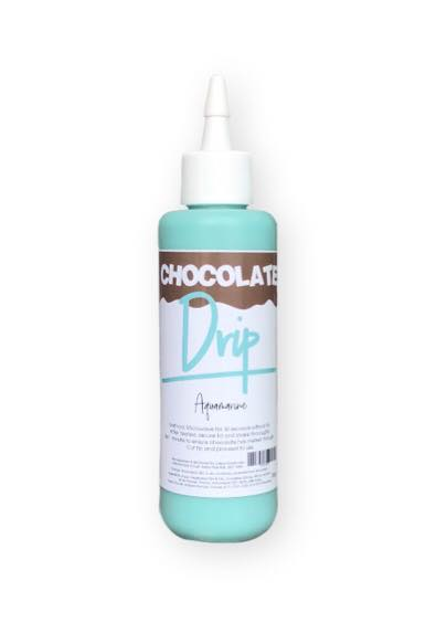 CHOCOLATE DRIP 250G AQUAMARINE