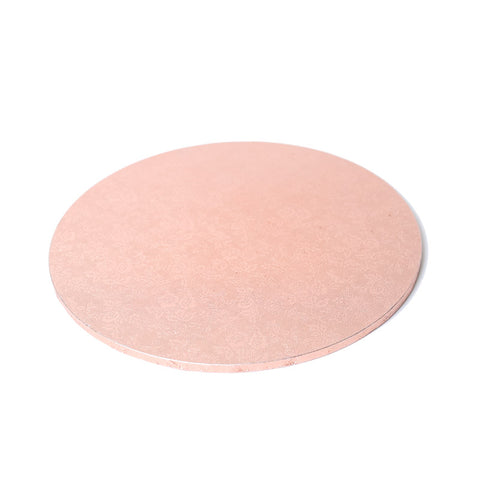 "10"" ROUND Masonite Cake Board ROSE GOLD"