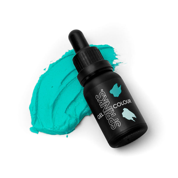 SPRINKS TEAL GEL COLOUR (15ML)