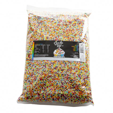Over The Top Edible Sprinkles - 100s and 1000 -  Cake Decorating 1kg - Gluten Free Sprinkles