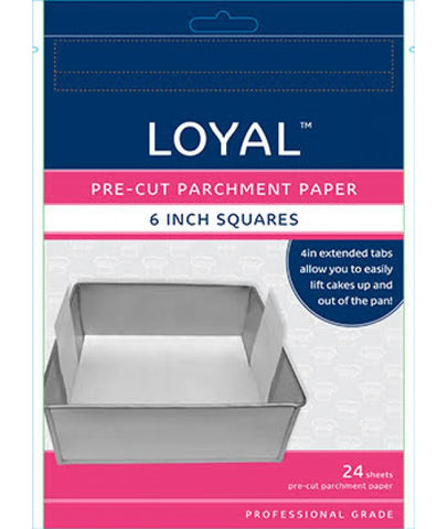 PRE-CUT PAPER WITH TABS Square 150mm/6 inch