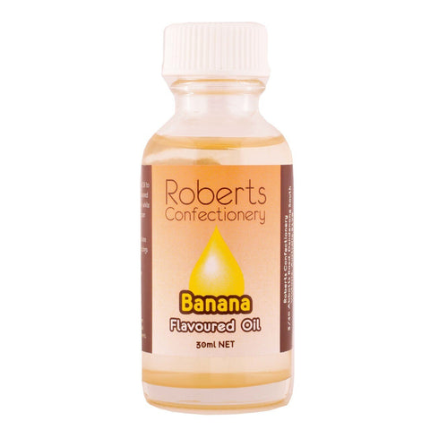 Roberts Confectionery - Banana Flavoured Oil - 30ml