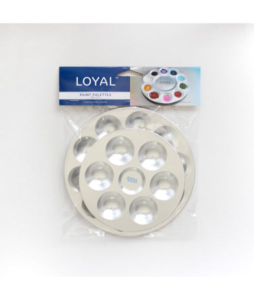 LOYAL PAINT PALETTES - set of 2